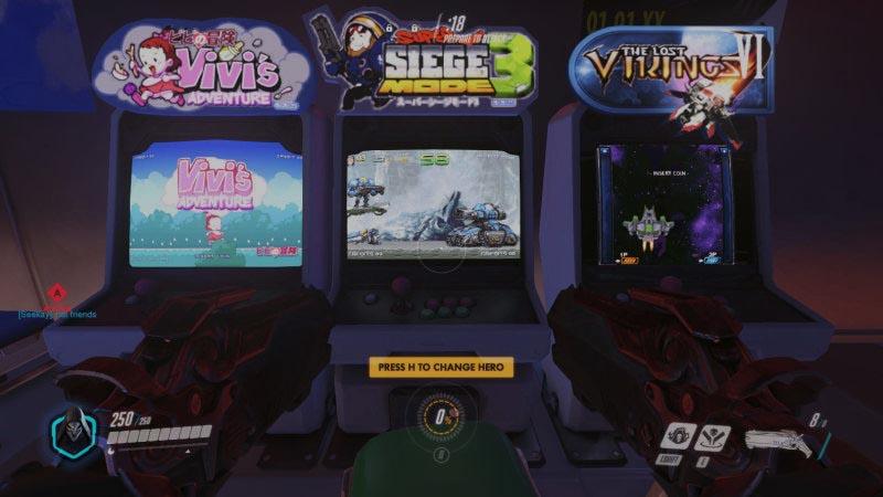 Arcade Overwatch