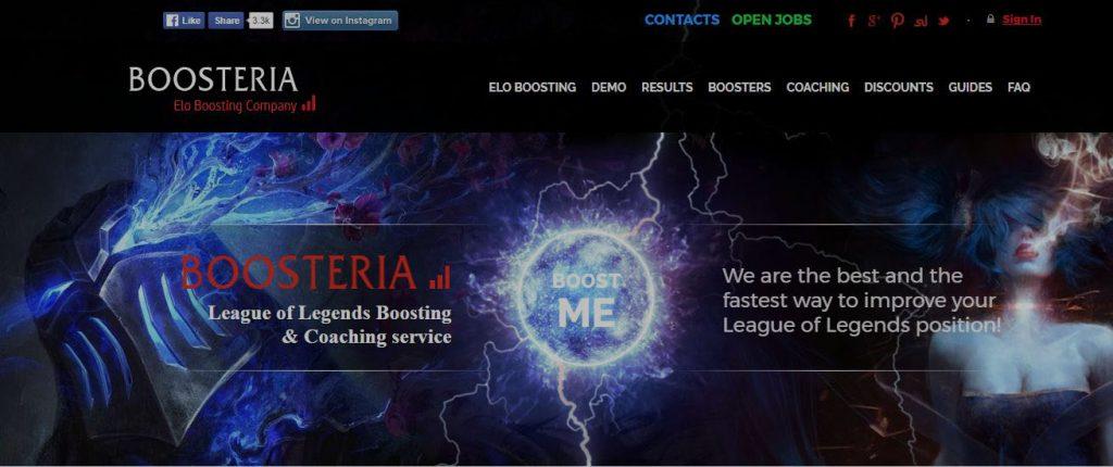 Boosteria boosting service