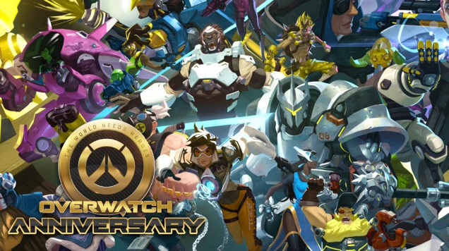 Overwatch Anniversary event